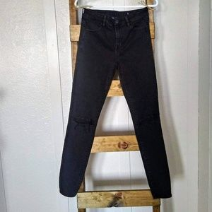 American Eagle Outfitters High Rise Black Jeggings